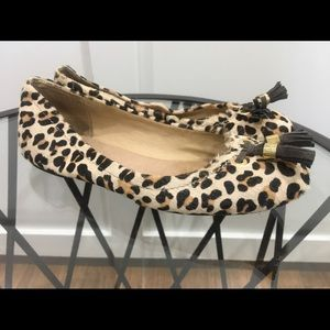 SPERRY  Top Sider Bliss Leopard Flats SZ 6 US WOME